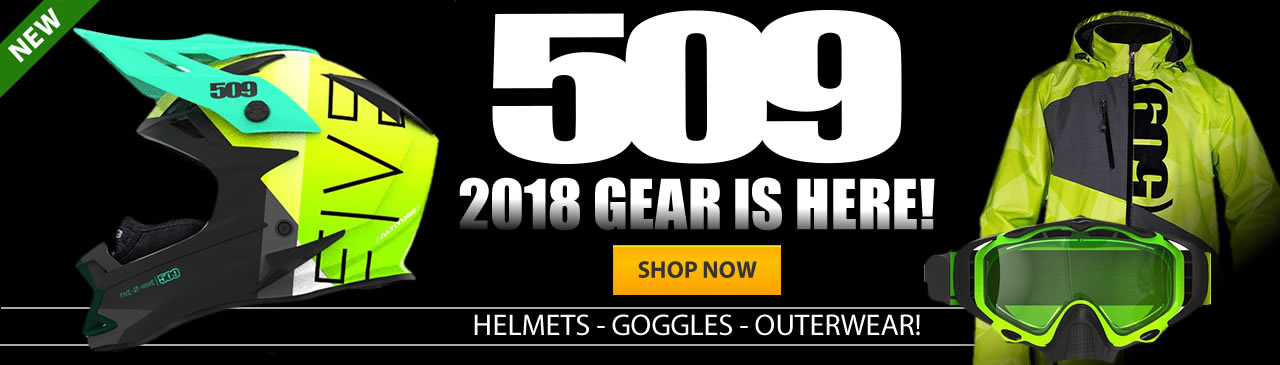 509 Snowmobile Helmets and Goggles