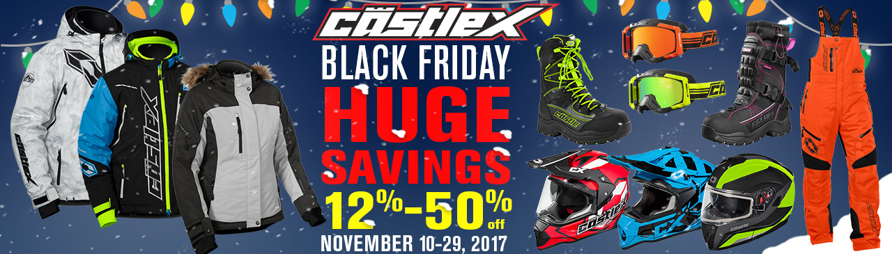 Castle X Black Friday