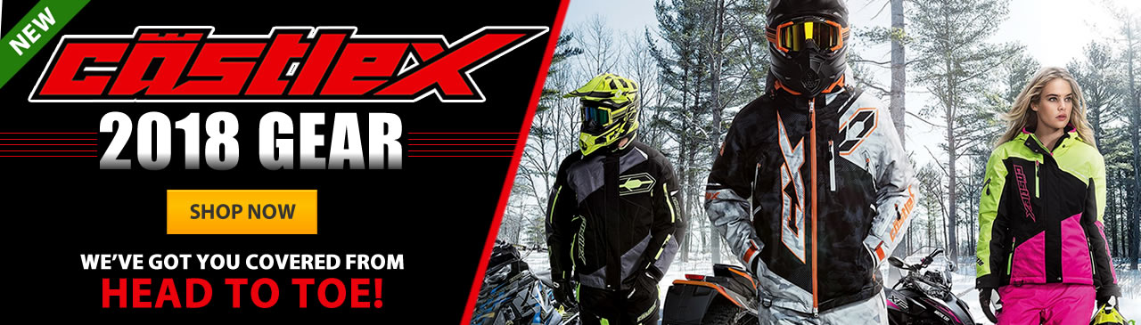 Castle X Snowmobile Clothing & Gear