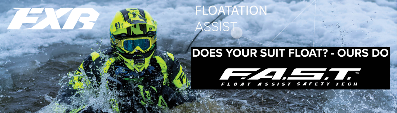 FXR F.A.S.T - Float Assist Safety Technology