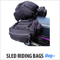 Sled Riding Bags