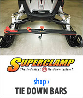 Snowmobile Tie-Downs and Bars
