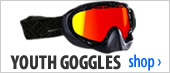 Youth Snowmobile Goggles