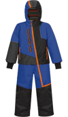 Choko Kiddies and Toddler Pilot One-Piece Snowmobile Suit - Royal Blue