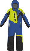Choko Kiddies and Toddler Pilot One-Piece Snowmobile Suit - Royal