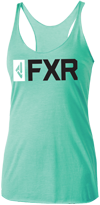 FXR Casual Women's Evo Tank - Mint-Black