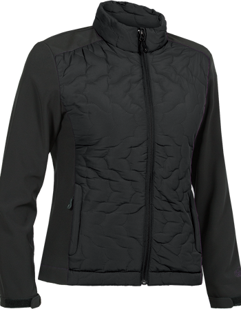 Choko Women's Fill-Softshell Jacket - Black