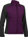 Choko Women's Fill-Softshell Jacket - Plum
