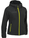 Choko Women's Ice Cruncher Hoodie - Black-Lime
