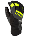 Klim Powerxross Snowmobile Glove - Hi Vis