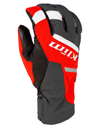 Klim Powerxross Snowmobile Glove - High Risk Red
