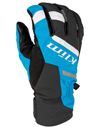 Klim Powerxross Snowmobile Glove - Vivid Blue