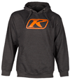Klim Icon Pullover Hoodie - Charcoal Gray