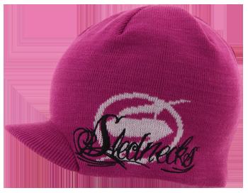 Slednecks Anthem Fleece Lined Beanie - Hot Pink 81d4afc2cb38