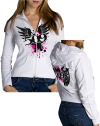 509 Woman's Angel Zip Hoody