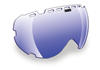 509 Aviator Goggle Lenses - Blue Mirror / Blue Tint