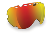 509 Aviator Goggle Lenses - Fire Mirror / Rose Tint