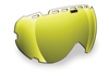 509 Aviator Goggle Lenses - Gold Mirror / Yellow Tint