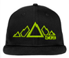 509 5 Peak Snapback Hat - Lime