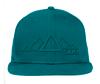 509 5 Peak Snapback Hat - Teal
