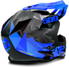509 Sale Altitude Helmet- Blue Triangle - Back View