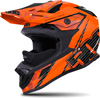 509 Sale Altitude Carbon Fiber Helmet- Orange w/ Fidlock