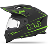 509 Delta R3 Helmet Lime w/ Electric Shield