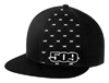 509 Pattern Flat Bill Flex Hat