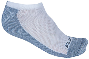Klim No Show Sock - White