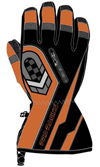 Choko Pro-Racing Leather Snowmobile Gloves