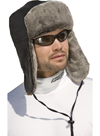 Choko Nylon/Fun Fur Trapper Snowmobile Hat