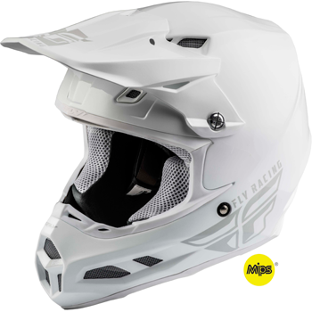 Fly F2 Carbon MIPS Solid Snowmobile Helmet