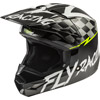 Fly Youth Kinetic Sketch Snowmobile Helmet