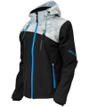 Castle X Women's Barrier G2 Tri-Lam Softshell Jacket - Black-Alpha Gray-Blue