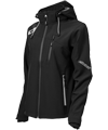 Castle X Women's Barrier G2 Tri-Lam Softshell Jacket - Black-White