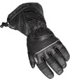 Choko Leather Snowmobile Gloves with Short Gauntlet