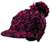 Castle X Women's Dream Magenta & Black Beanie