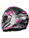 Castle X Atom SV Transcend Modular Snow Helmet w/Electric Shield - Pink