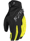 FXR Attack Lite Glove - Black-Hi Vis