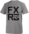 FXR Broadcast T-Shirt - Grey Heather-Black