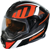 Caslte X EXO-CX950 Slash Modular Dual-Sport Helmet w/Dual Lens Shield - Red