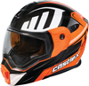 Caslte X EXO-CX950 Slash Modular Dual-Sport Helmet w/Dual Lens Shield - Fl Orange