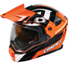 Caslte X EXO-CX950 Slash Modular Dual-Sport Helmet w/Dual Lens Shield - Flo Orange
