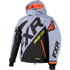 FXR Youth CX Jacket - Grey-Black-Orange-Hi Vis