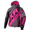 FXR Youth CX Jacket - Charcoal-Black-Electric Pink