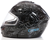DSG GMAX GM54 Modular Aztec Black Snowmobile Helmet by Divas Snow Gear