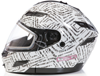 DSG GMAX GM54 Modular Aztec White Snowmobile Helmet by Divas Snow Gear