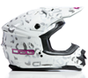 DSG GMAX GM76X Coldweather White-Leopard Snowmobile Helmet