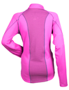 DSG Tech Snowmobile Shirt by Divas Snow Gear - Fuchsia