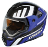 Castle X EXO-CX-950 Slash Modular Dual-Sport Snowmobile Helmet - Blue-Black